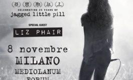 Tour europeo posticipato al prossimo anno per Alanis Morissette