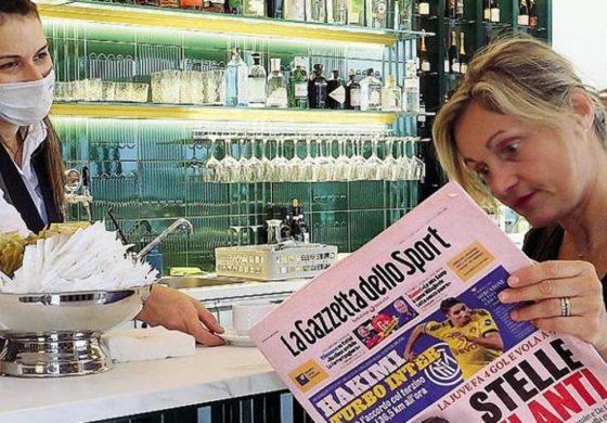 Da Regione Piemonte: via libera a quotidiani e giornali negli esercizi pubblici, e al gioco a carte