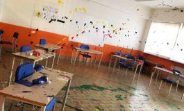 Devastata la scuola primaria di Volpiano, nel torinese