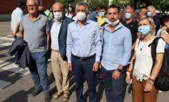 Chiusura stamperia Miroglio, il sindaco di Alba tra i lavoratori