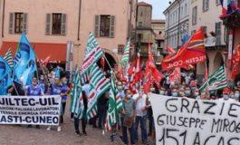 """Stamperia Miroglio: sale la protesta dei lavoratori, i sindacati: """"nessun passo avanti"""""""