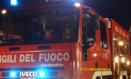 Camion si ribalta ad Isola d'Asti, ferito il conducente