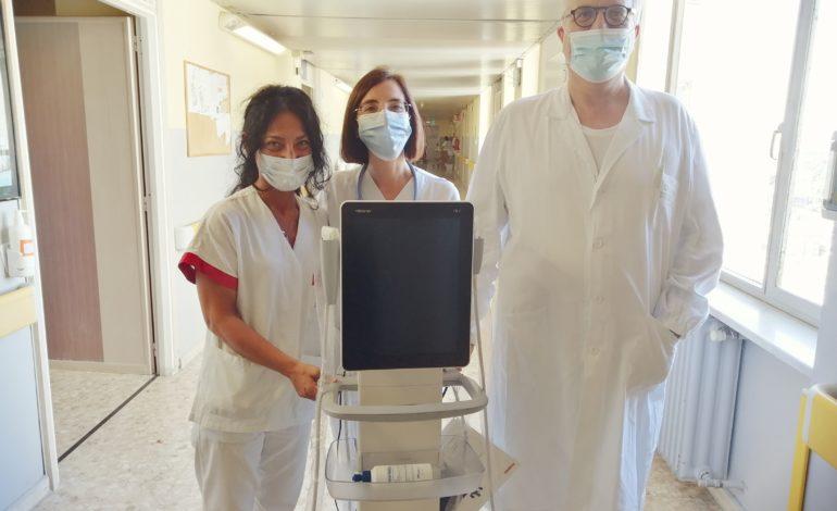 Da SolidAl: nuovo ecografo in funzione alle malattie infettive di Alessandria grazie alla Fondazione SolidAl
