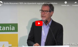 Il Governatore Nello Musumeci: nella Regione Sicilia l'80% dei dipendenti è improduttivo (Video)