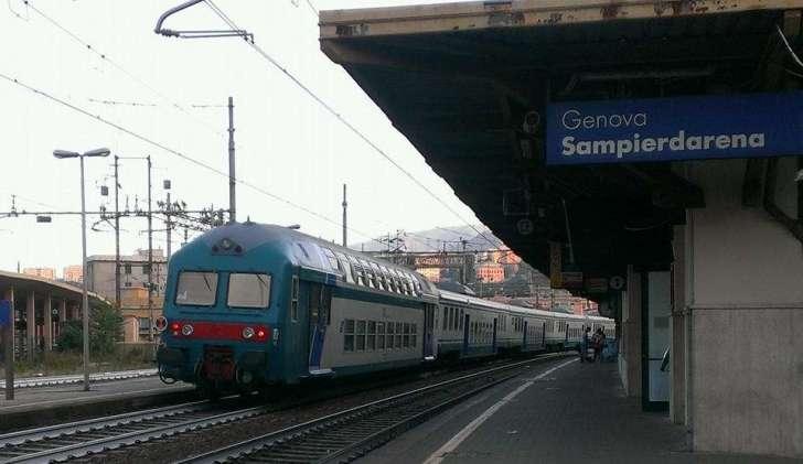 Allarme bomba alla stazione di Sampierdarena, disagi sulla linea ferroviaria Genova-Acqui Terme