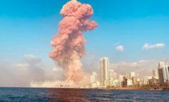 Due potenti esplosioni a Beirut: i morti sono almeno 10, tra i feriti anche un militare italiano