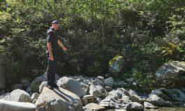 Ossa umane trovate sulla riva del torrente Strona a Postua, nel vercellese