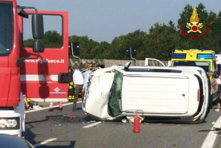 Sette feriti in un incidente sulla Torino-Savona