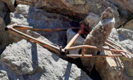 Svelato il mistero del telaio di bicicletta trovato a 3000 metri sul Monviso: fu usato nel 1954 come barella d'emergenza