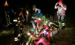 Nell'acquese turisti francesi rimasti bloccati sul greto di un corso d'acqua
