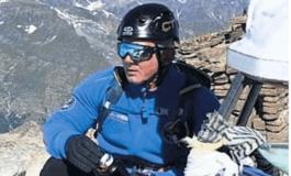 Guarisce dal Covid19 e per la gioia scala il Monte Bianco
