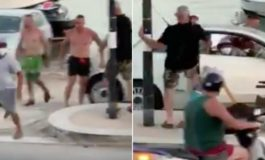 Migrante tenta di rubare un'auto: bloccato e messo in fuga (Video)
