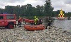 Acquazzone sul torrente Borbera, i bagnanti chiamano i pompieri