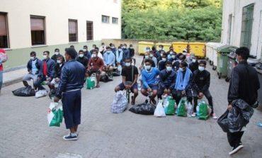 Giovane profugo tunisino evaso dal centro di accoglienza di Castello d'Annone poche ore dopo il suo arrivo