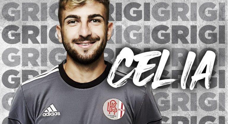 Grigi, Raffaele Celia resta per un altro anno