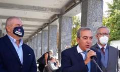 L'eterno Cavallera, insieme a Gasparri, in appoggio al candidato sindaco per il centrodestra (favorito)