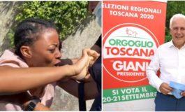 Ora è tutto chiaro: la congolese che ha aggredito Salvini è attivista della sinistra toscana
