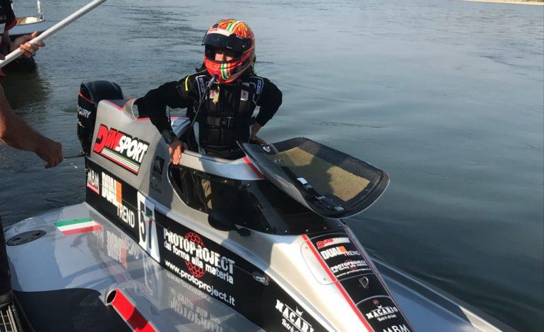 Waterfestival Viverone 2020: il giovane talento del Rainbow Team Oleg Bocca debutta in Formula 4