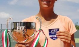 La tennista Basiletti campionessa italiana under 14, sconfitta la Teodosescu