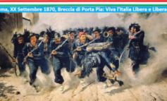 Il XX Settembre 1870 fu un artigliere ebreo a tirare la prima cannonata contro Porta Pia: in quel momento magico il sogno di un'Italia Unita, Libera e Liberale fu finalmente una splendida realtà
