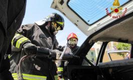 Frontale in Val Cerrina: grave un uomo di 60 anni