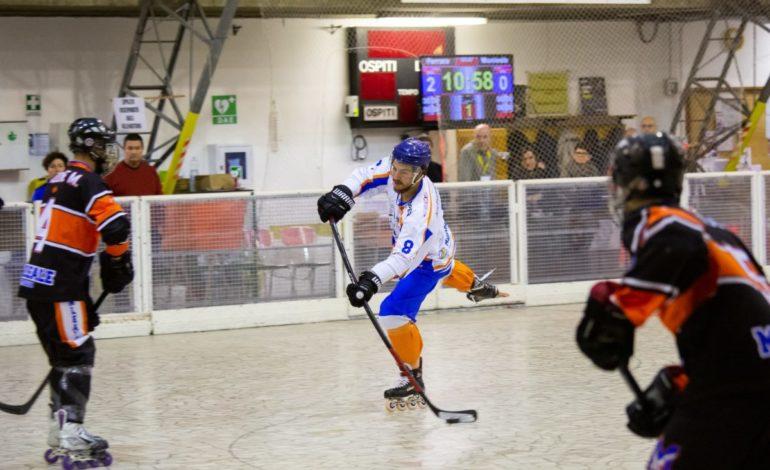 Hockey in line: Monleale lotta ma deve arrendersi a un Ferrara qualitativamente superiore