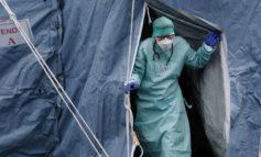 Coronavirus: nel seminterrato dell'ospedale di Alessandria un tendone degli alpini per aumentare i posti letto