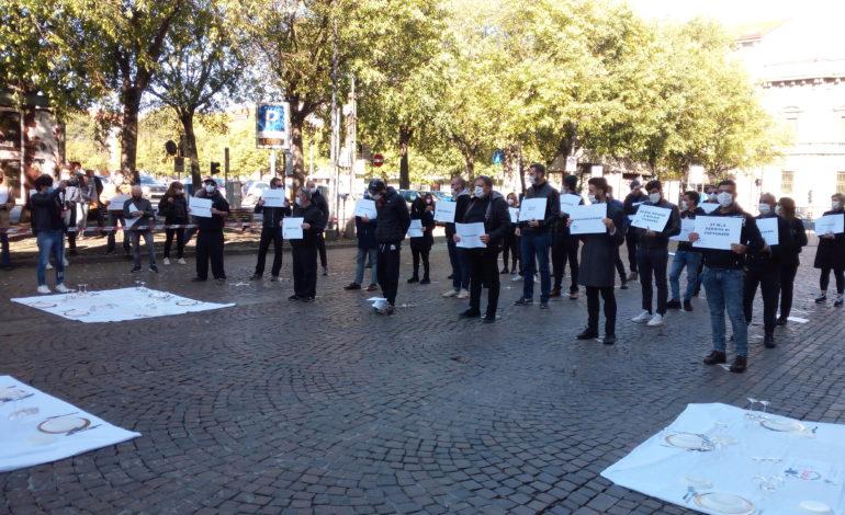Gli alessandrini protestano con fermezza e sobrietà contro i Dpcm di Conte