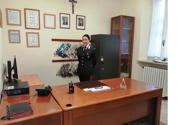 Nuova vice comandante dei Carabinieri a Casale Monferrato
