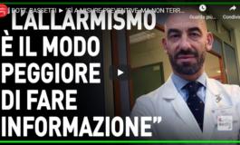Bassetti: le mascherine hanno senso solo con altre misure preventive (Video)