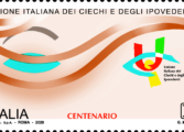 Da Poste Italiane: emesso un francobollo tematico dedicato ai ciechi
