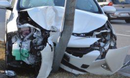 Tre incidenti stradali per cinque automobilisti sbronzi