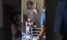 Lo zio s'è affidato a un avvocato per riavere il nipotino di sei anni orfano di madre allontanato da lui con la forza (Video)