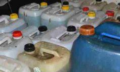 Avevano in garage 280 litri di gasolio: denunciati