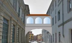 Covid19: tende in cantina all'ospedale di Alessandria