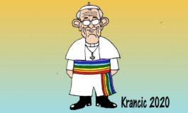 Bergoglio contro i bambini ma a favore dei gay