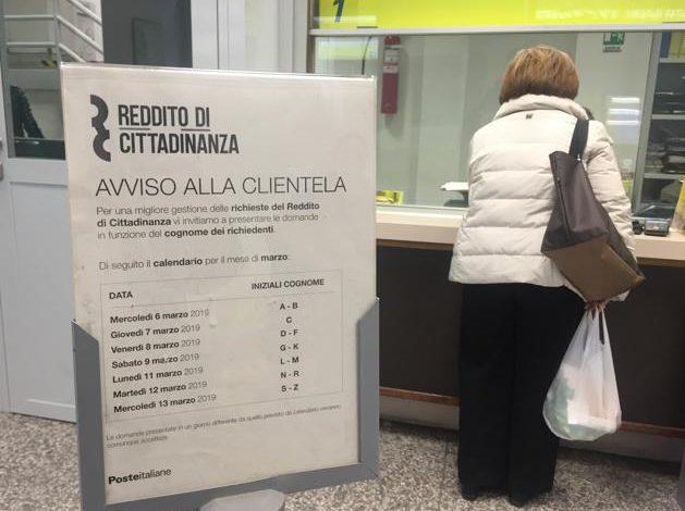 Da Inps: per il reddito e la pensione di cittadinanza da gennaio le famiglie beneficiarie sono aumentate del 25%