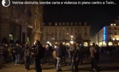 È stata una baby gang di immigrati a saccheggiare i negozi a Torino durante la manifestazione di martedì