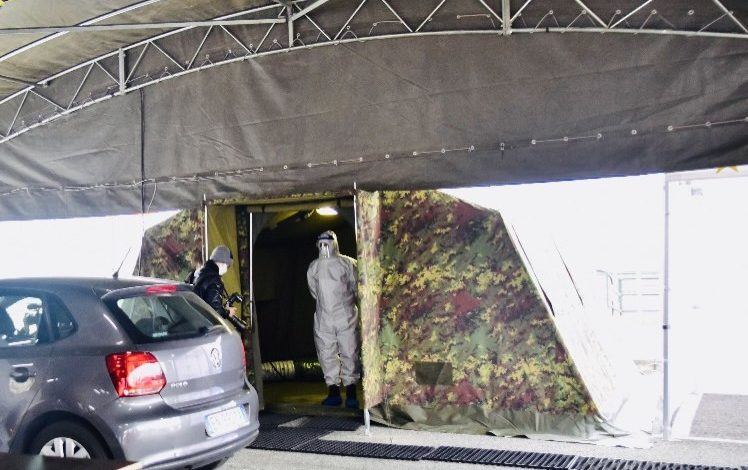 Da Regione Piemonte: da domani al via l'Hotspot Allianz Stadium per i test rapidi; accesso a bordo dell'auto su prenotazione del medico di famiglia