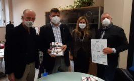 Da For Al Valenza: il sindaco di Valenza Oddone in visita alla sede dell'Agenzia Melchiorre
