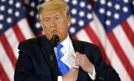 """Trump: non concedo la vittoria, Biden ha vinto solo per i """"media fake news"""""""