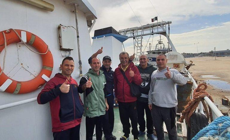 Dopo più di tre mesi finalmente liberati i 18 pescatori di Mazara del Vallo