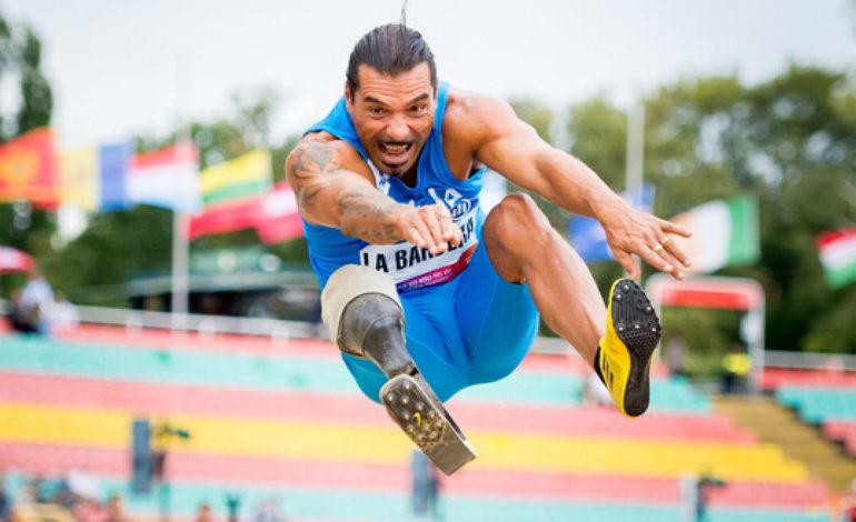 Salto in lungo: l'atleta paralimpico alessandrino La Barbera domina ad Ancona