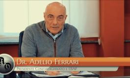 Il presidente Adelio Ferrari: Ebap, un ente amico a supporto dell'artigianato, spina dorsale dell'Italia (Video)