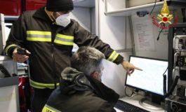 Anziano scompare da casa alle undici di sera ma è ritrovato dai pompieri quattro ore dopo