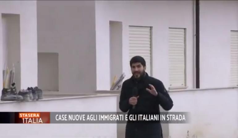 Coi soldi spesi per ospitare i clandestini si poteva dare casa a 2 milioni di italiani (Video)