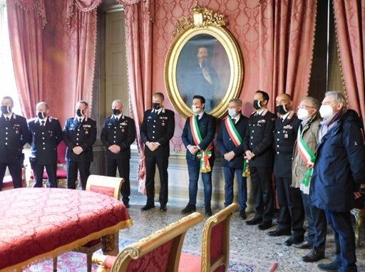 Festeggiati in Municipio i Carabinieri casalesi promossi al grado superiore