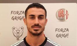 Grigi: lesione al bicipite femorale per il centrocampista Frediani, si prospetta un lungo stop