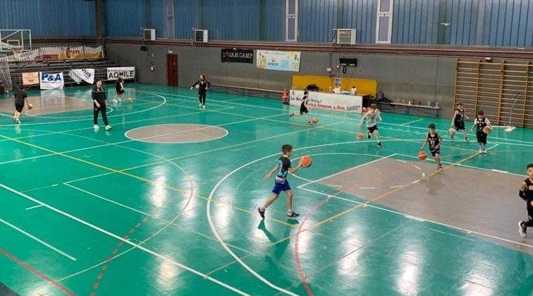 Derthona Basket: ripartita l'attività del settore giovanile
