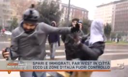 La violenza belluina dei clandestini a Milano che spacciano e uccidono (Video)